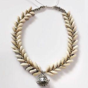 Shell boho necklace
